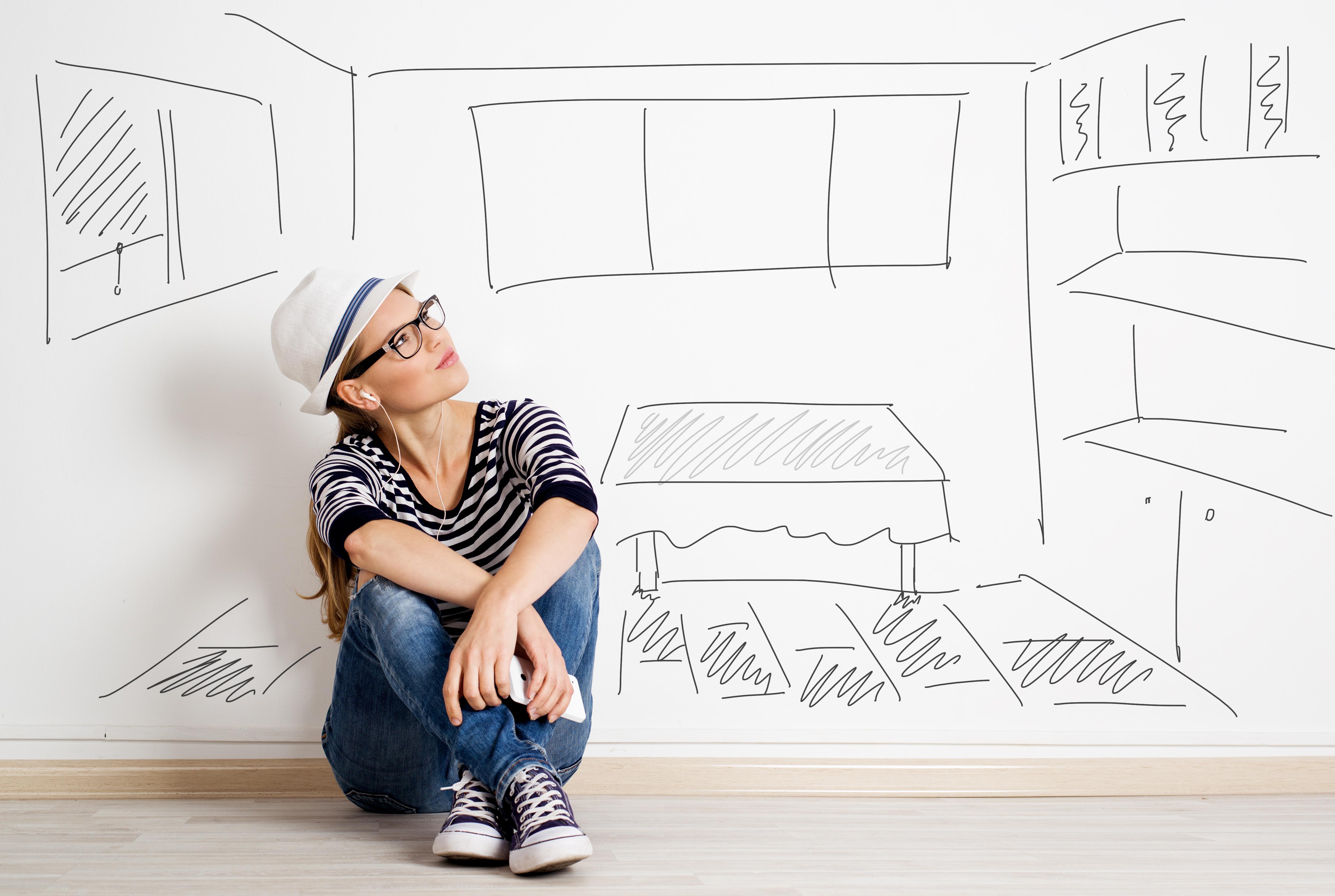 plánovanie interiérový dizajn