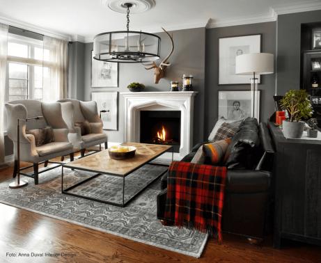 útulná obývačka